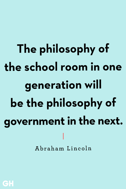 back to school quotes abraham lincoln