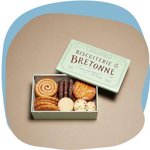 『ビスキュイテリエブルトンヌ』の缶入りクッキー