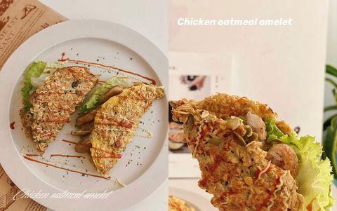 燕麥創意吃法1:燕麥可麗餅