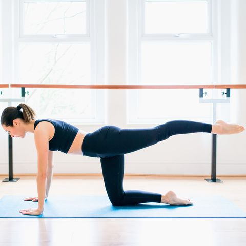 5 barre floor moves for your daily full body workout