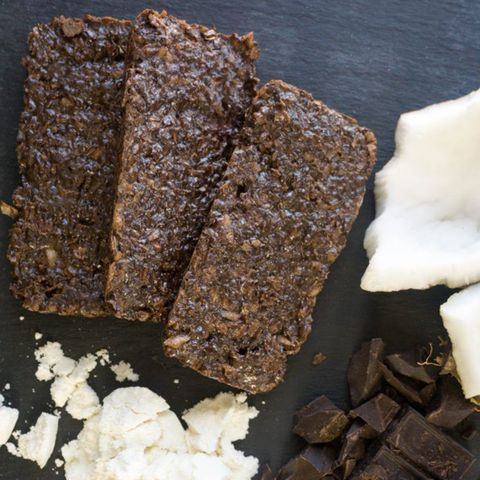 coconut chocolate keto bars