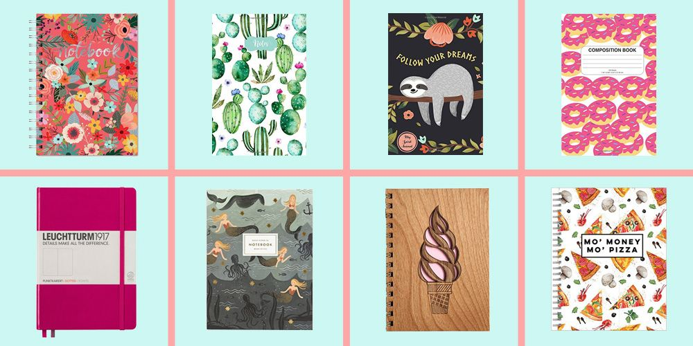 15 Cute Notebooks For Back To School Fun Kids Journals Amp Spiral Notebooks