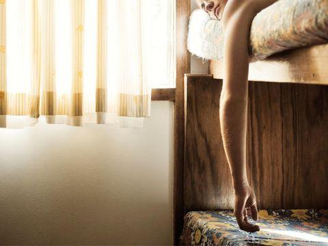 Human leg, Joint, Elbow, Interior design, Knee, Wrist, Waist, Thigh, Trunk, Calf,
