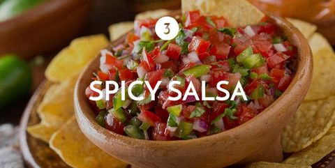 Dish, Food, Cuisine, Pico de gallo, Pebre, Ingredient, Tortilla chip, Salsa sauce, Produce, Mexican food,