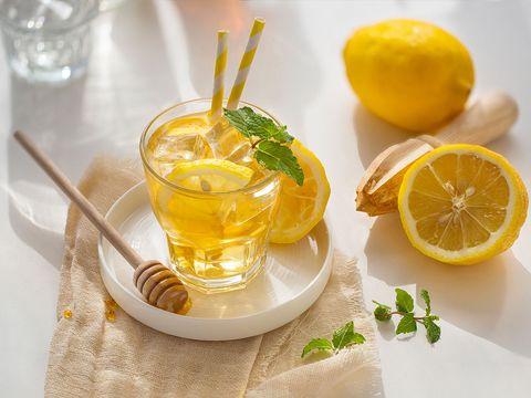 消水腫瘦身檸檬水