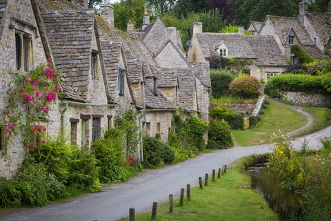 bibury is a village and civil parish in gloucestershire, england it is situated on the river coln, about 6 5 miles 10 5km northeast of cirencester a picture of bibury is seen on the inside cover of all united kingdom passports, making it the most depicted village in the world