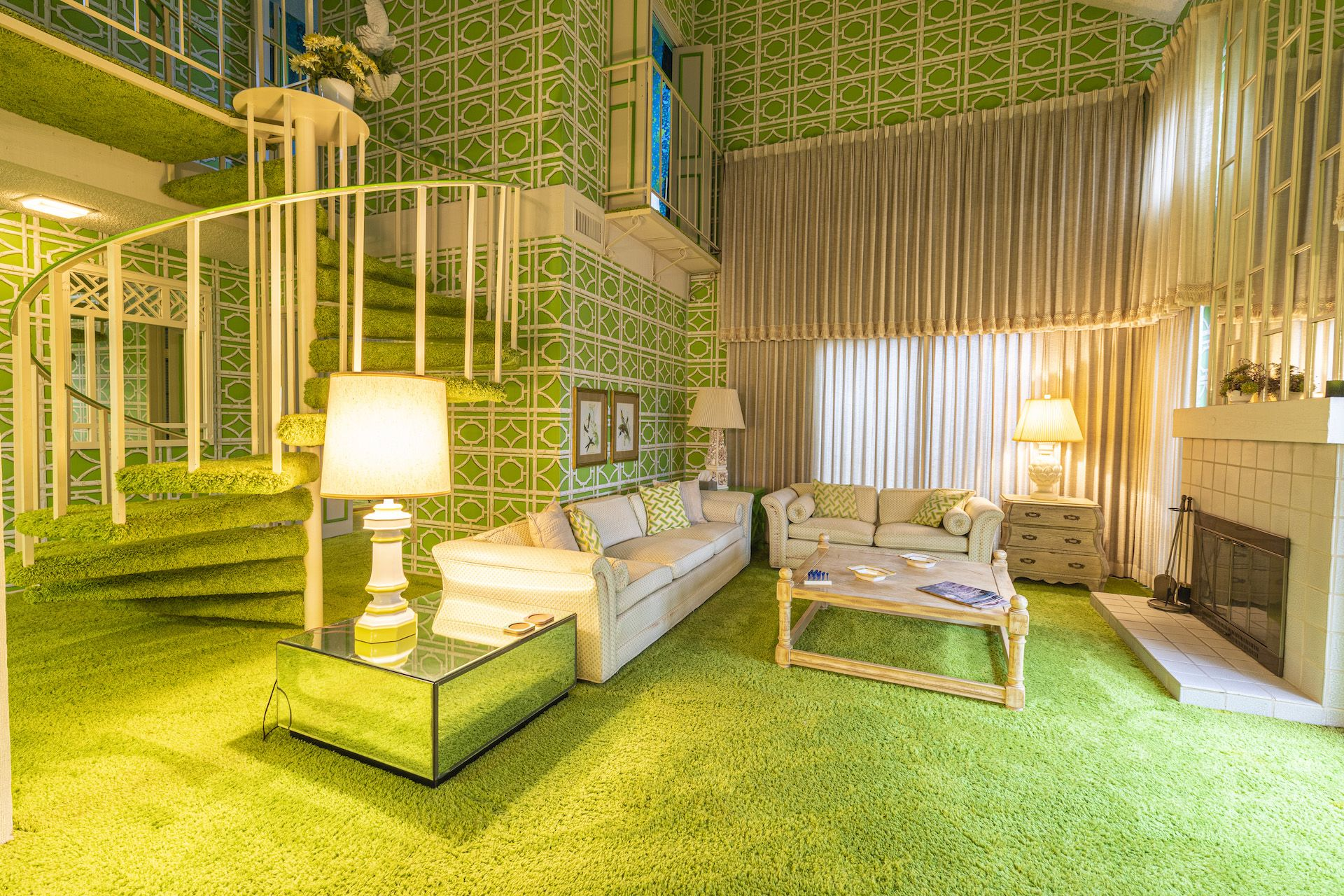 """This Groovy Green """"Time Capsule"""" Condo in California Is on the Market for $375,000"""