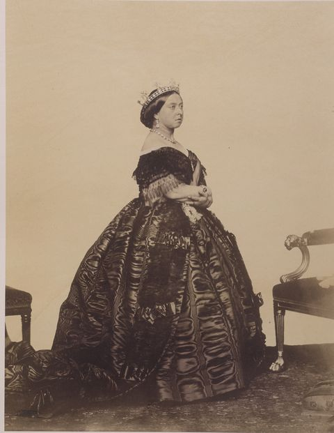 Queen Victoria, via Charles Clifford