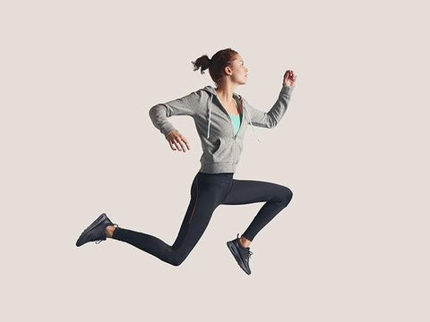Hand, Elbow, Active pants, Knee, Exercise, Running, Waist, sweatpant, Sneakers, Leggings,