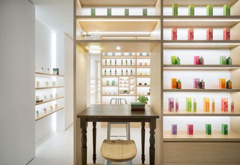 Shelving, Shelf, Stool, Collection, Bottle, Display case, Plywood, Cabinetry, Pantry, Glass bottle,