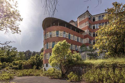 Ospedale abbandonato in Toscana