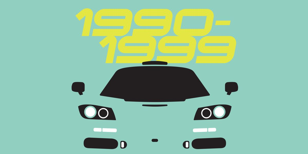 The 10 Most Influential Cars of the 1990s