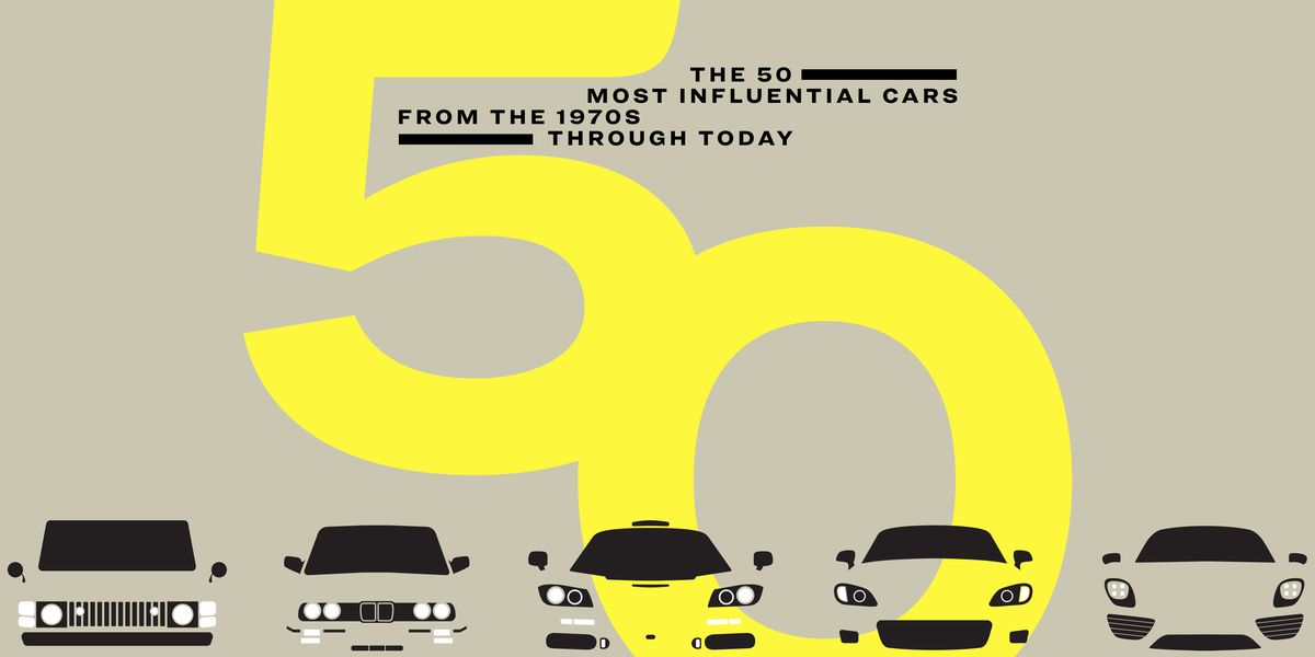Introducing: The 50 Most Influential Cars