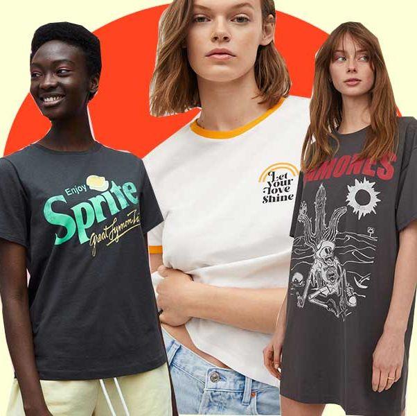50 camisetas buenas y baratas que son tendencia