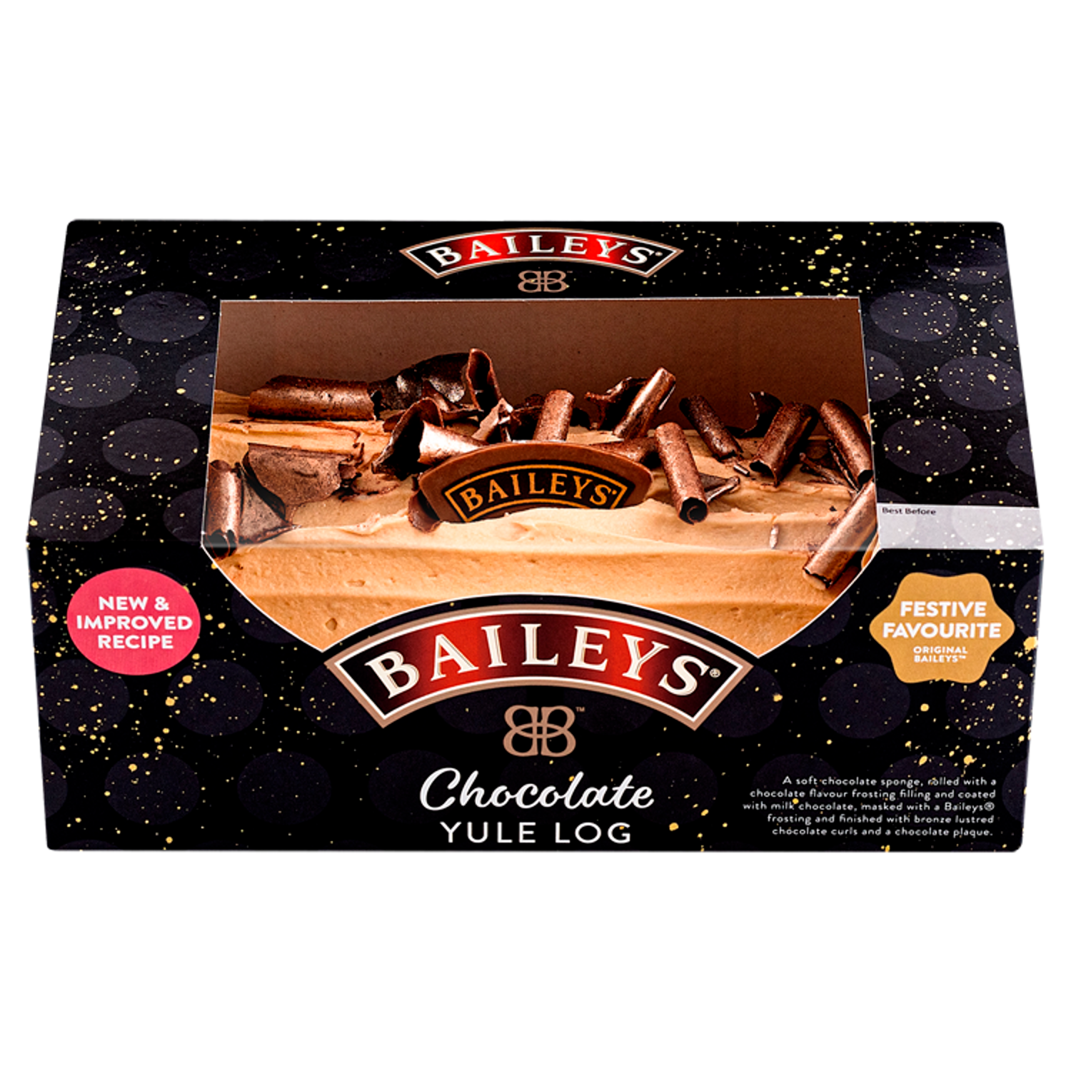 This Bailey's Chocolate Yule Log Is ALL We Want For Christmas Dessert