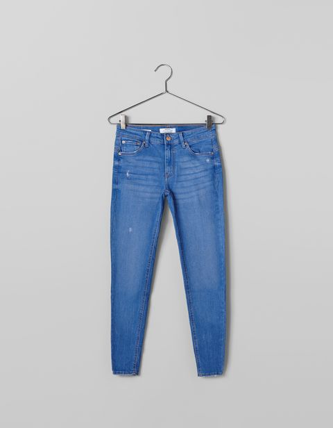 Denim, Clothing, Jeans, Blue, Pocket, Textile, Trousers, Electric blue, Waist,