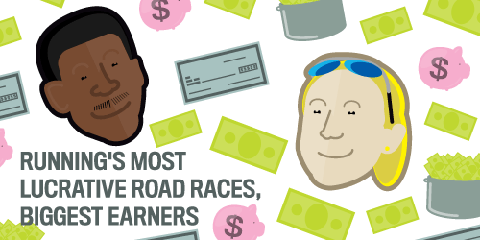 Running's Most Lucrative Road Races, Biggest Earners Images