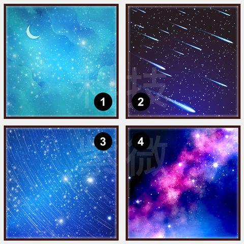 圖片心測:有人默默守護你?星空圖揭曉答案