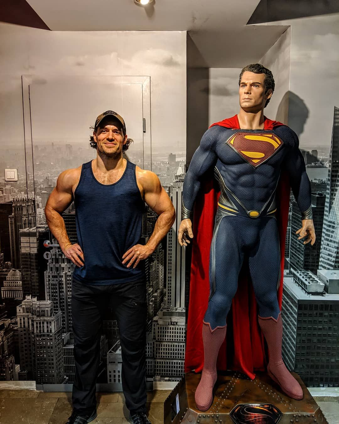 Image result for Henry Cavill workout