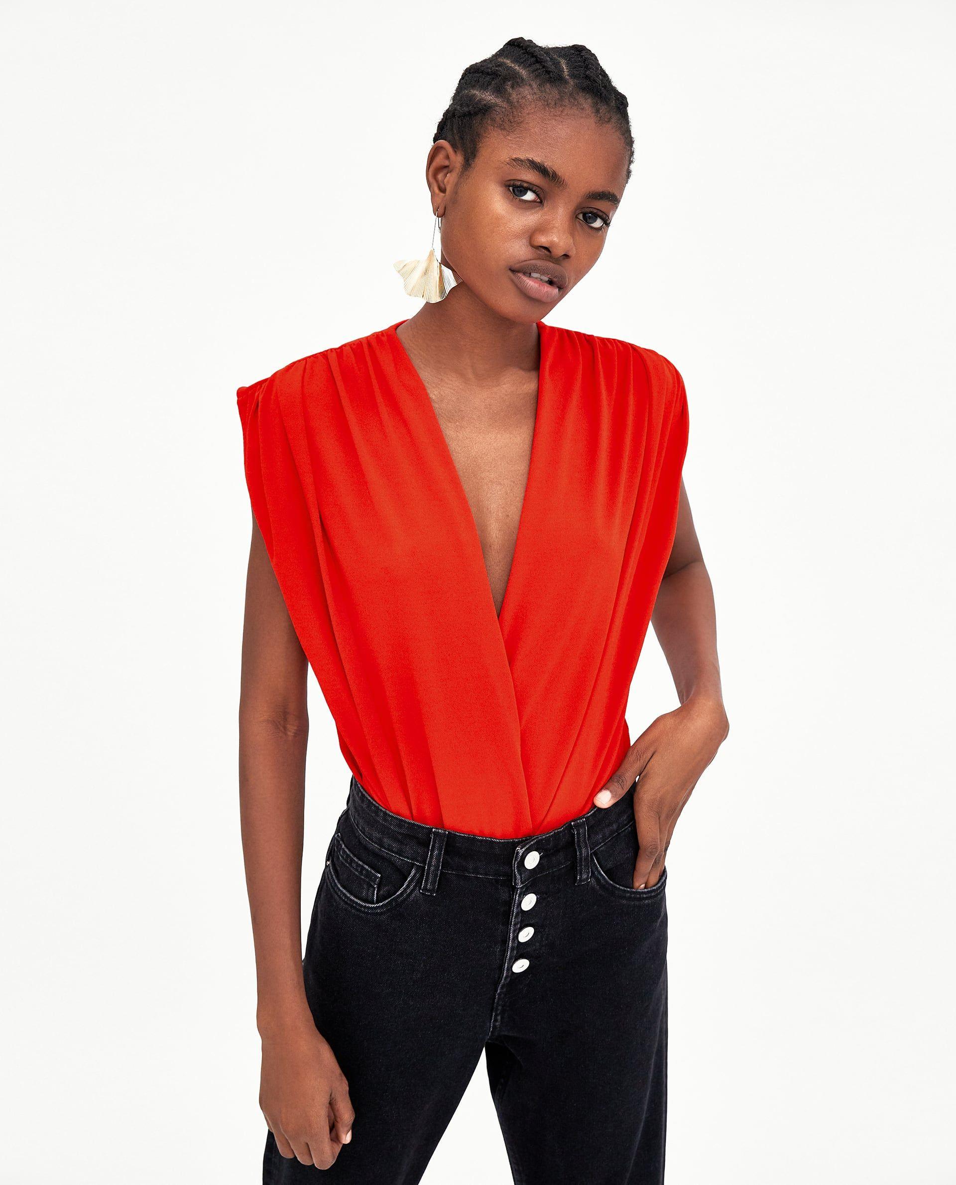 898f9ee280 Body Zara - Los nuevos bodies de Zara son todo lo que necesitas este verano