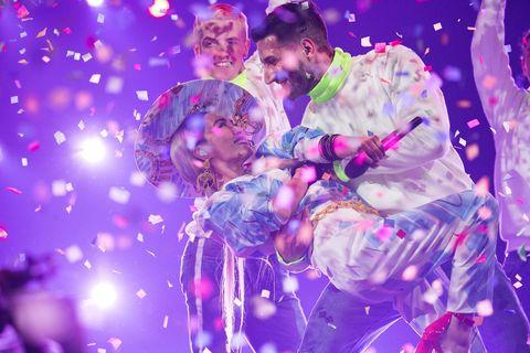 Purple, Violet, Fun, Magenta, Event, Performance, Photography, Plant, Dancer,