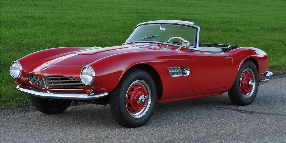 You Can Buy This BMW 507 Once Owned by the Man Who Penned its Design