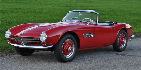 BMW 507 For Sale >> 1958 BMW 507 for Sale - 507 Owned by Albrecht Graf von Goertz Bonhams Auction
