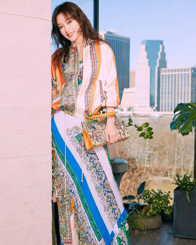 Tory Burch, 大陸女星, 延禧攻略, 時裝秀NYFW, 秦嵐,紐約時裝週,時尚秀,女星穿搭,穿搭,紐約