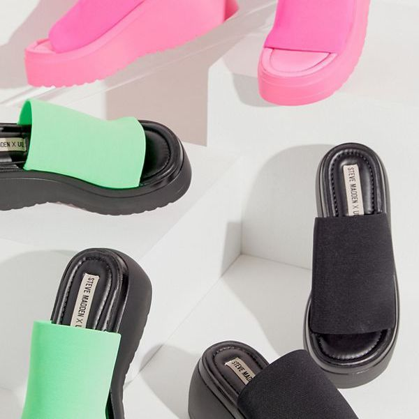 22ce967a887 Steve Madden Re-Releases His Iconic '90s Platform Sandals at Urban ...