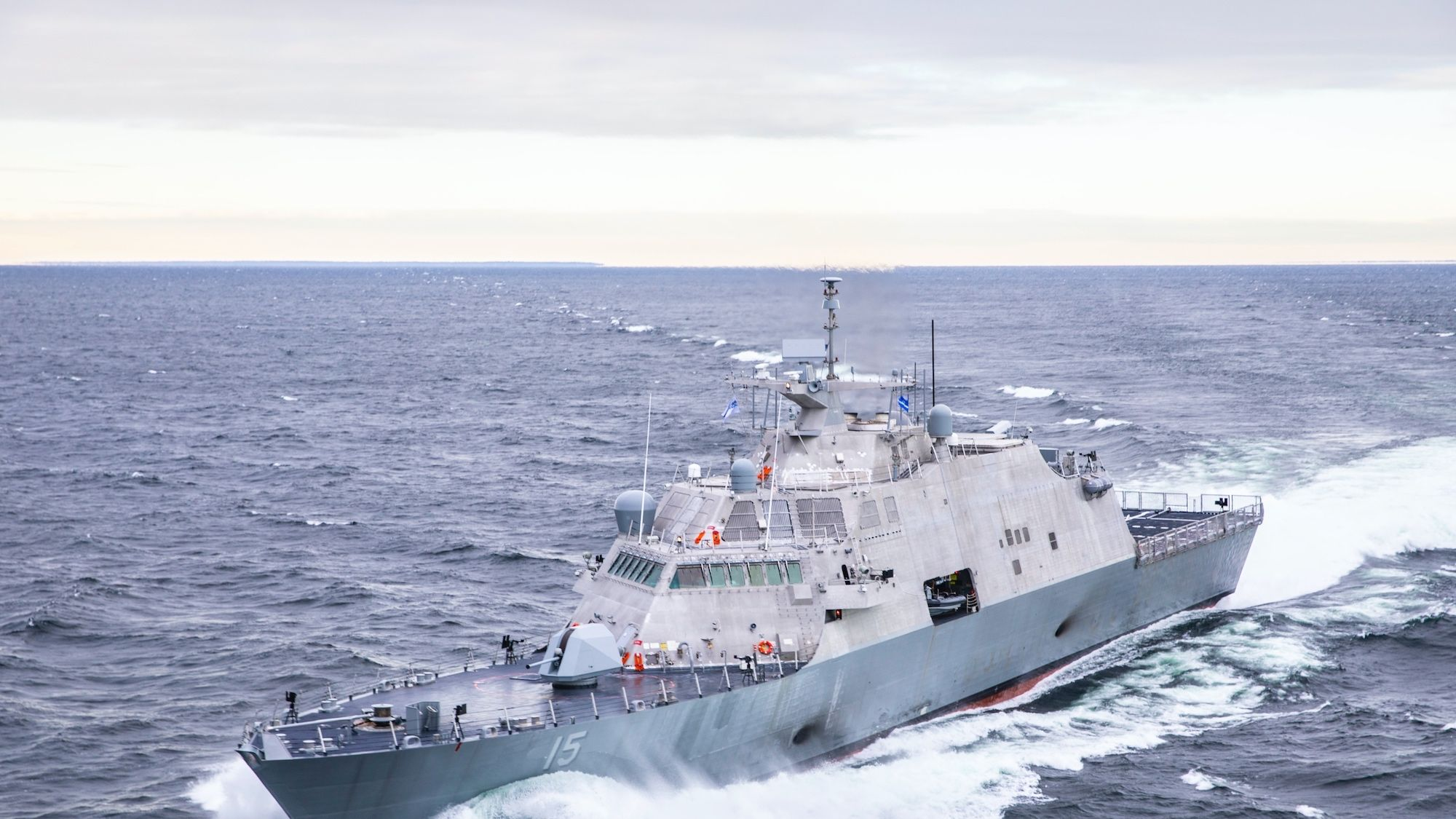 One of the Navy's New Warships Just Crashed in Canada