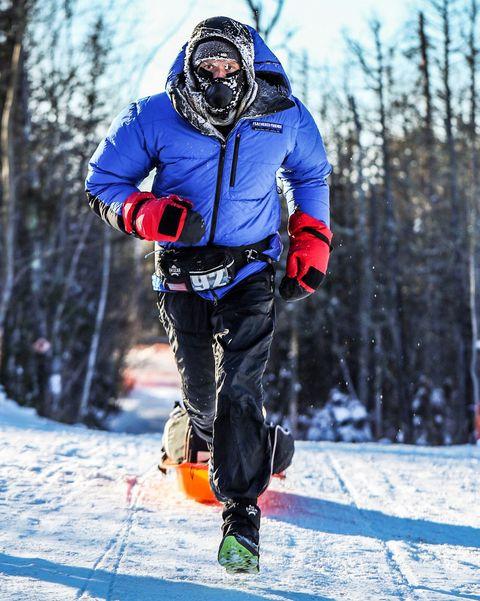 Snow, Winter, Outdoor recreation, Recreation, Footwear, Snowshoe, Ski, Winter sport, Nordic skiing, Freezing,