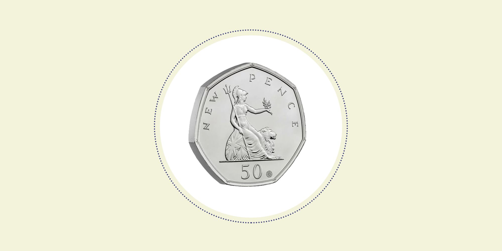 The Royal Mint releases new limited-edition 50p coin celebrating 50 years of the seven-sided coin