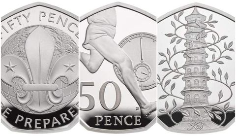 Royal Mint 50 years of the 50p photo