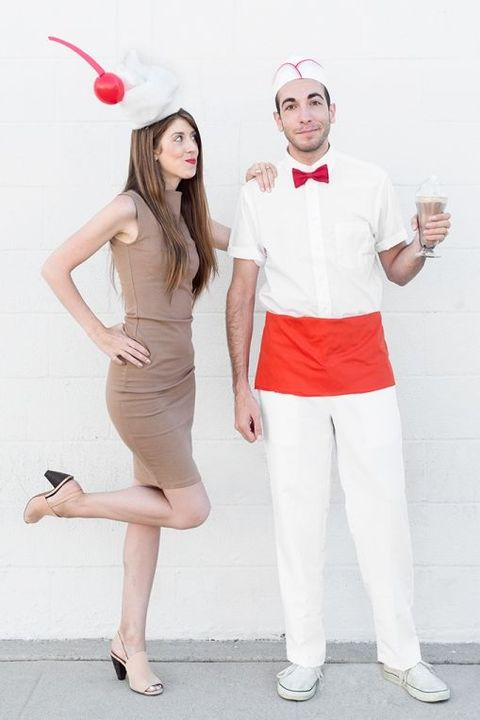 50s costume ideas milkshake soda jerk