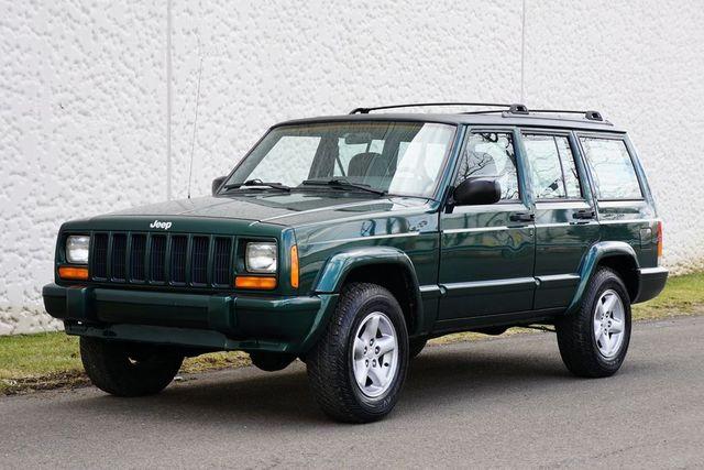 jeep cherokee xj 2001 green