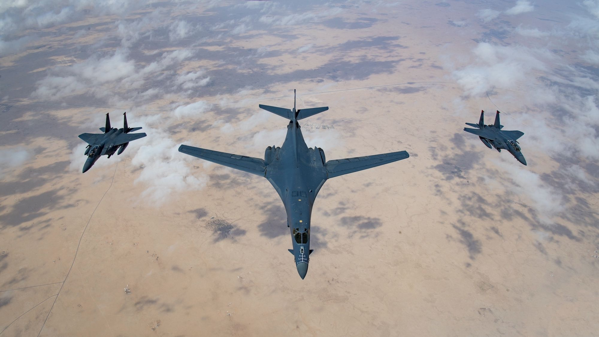 Less Than Ten U.S. B-1 Bombers Are Ready for Action
