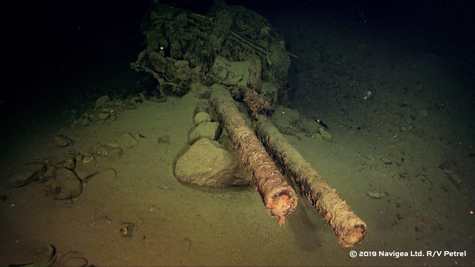 Sunken Japanese World War II Battleship Discovered Off Solomon Islands