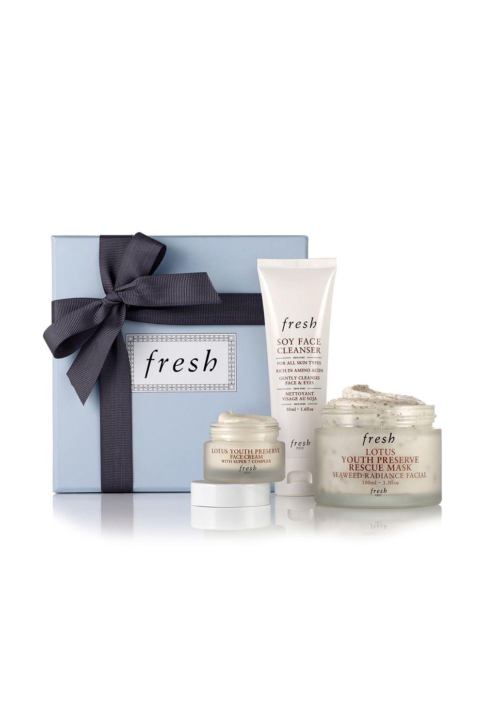 This Radiance-Boosting Skincare Set Fresh Radiance-Boosting Skin Care Set Cult-loved products that ensure a major glow ahead. Regular price: $73 Sale price: $58 SHOP IT