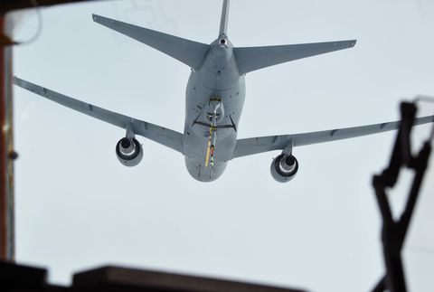 McChord Field Pilots train refueling with new KC-46 Pegasus