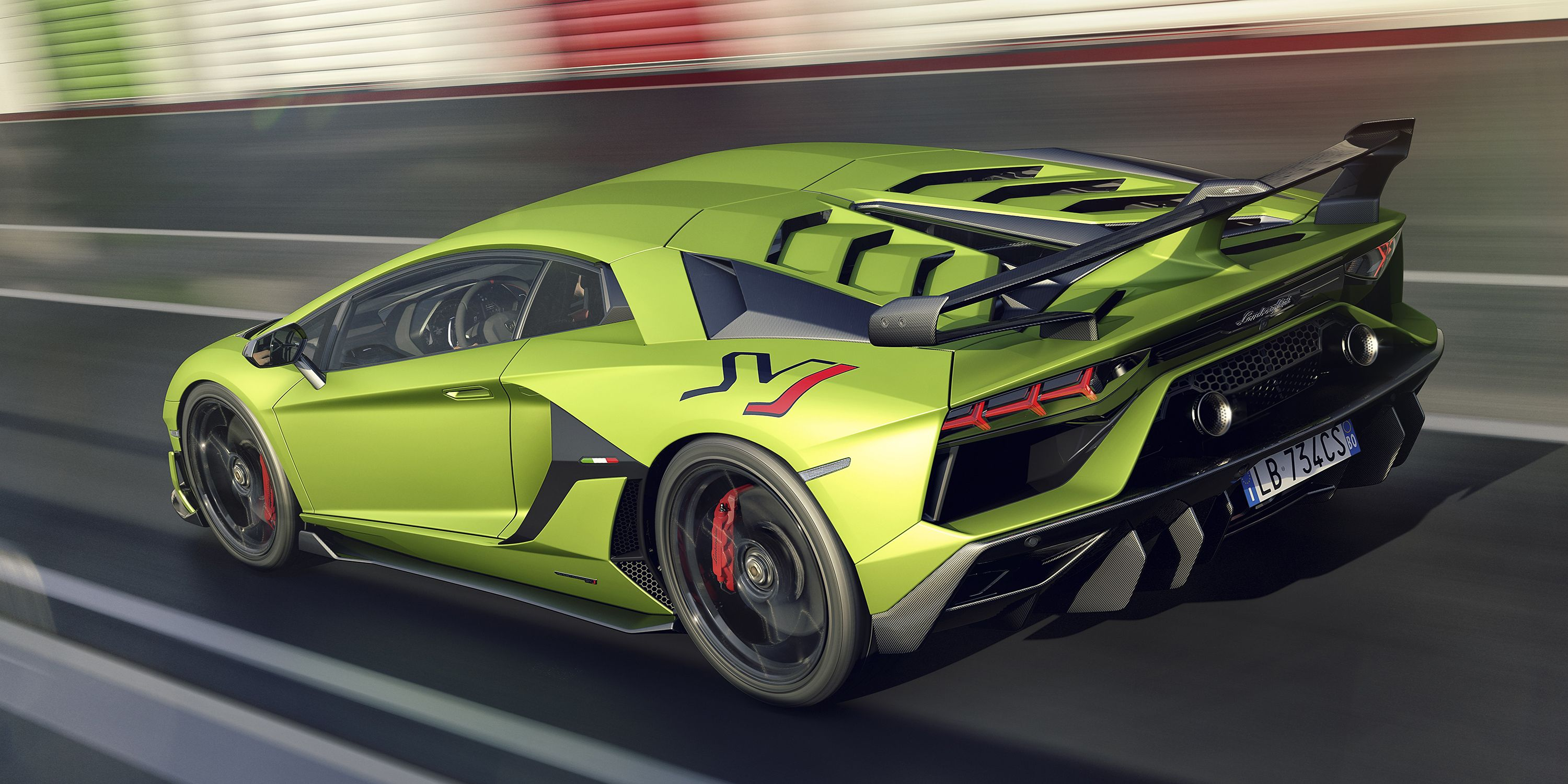 lamborghini aventador svj takes the v12 supercar to outrageous extremes