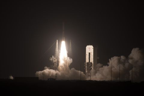 ULA launches WGS-10 satellite at Cape Canaveral Air Force Station