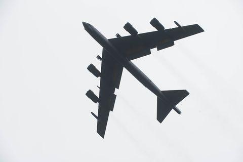B-52 Stratofortress at RAF Fairford