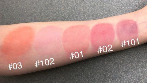SUUQU,SUQQU腮紅,SUQQU晶采淨妍頰彩蜜,紫腮紅,2019pantone,珊瑚橘,beauty