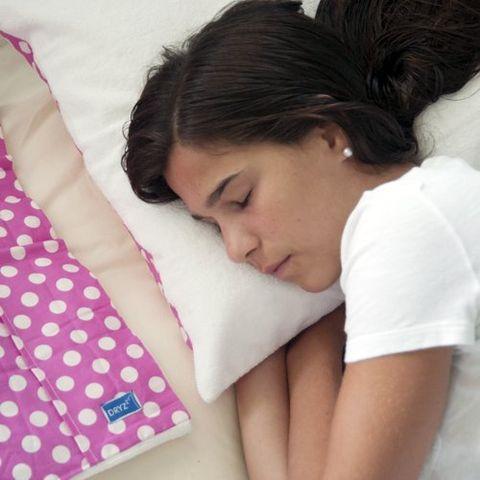 Sleep, Pillow, Nap, Skin, Bedding, Child, Nose, Neck, Arm, Pink,