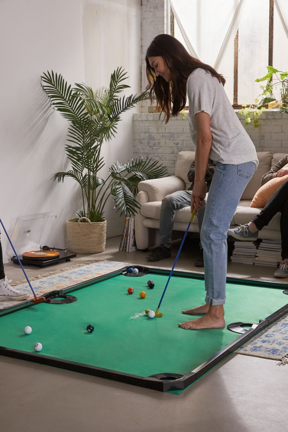 Mini Golf Pool Is Exactly What Your Game Room's Been Missing