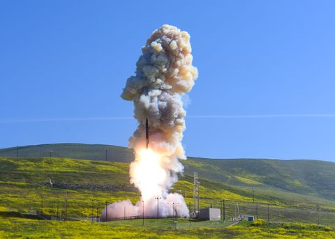 TEST OF NATION'S MIDCOURSE DEFENSE SYSTEM CONDUCTED