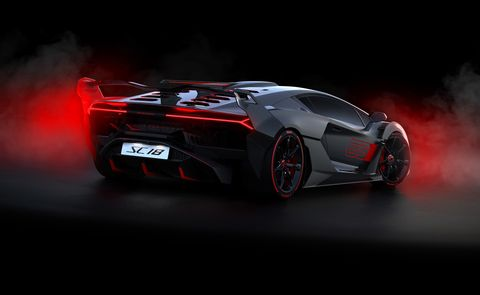 One Off Lamborghini Sc18 Track Special Revealed New 2019
