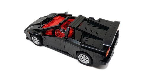 Land vehicle, Vehicle, Car, Model car, Toy, Supercar, Sports car, Wheel, Lego, Race car,