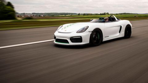 Porsche Boxster Bergspyder prototype