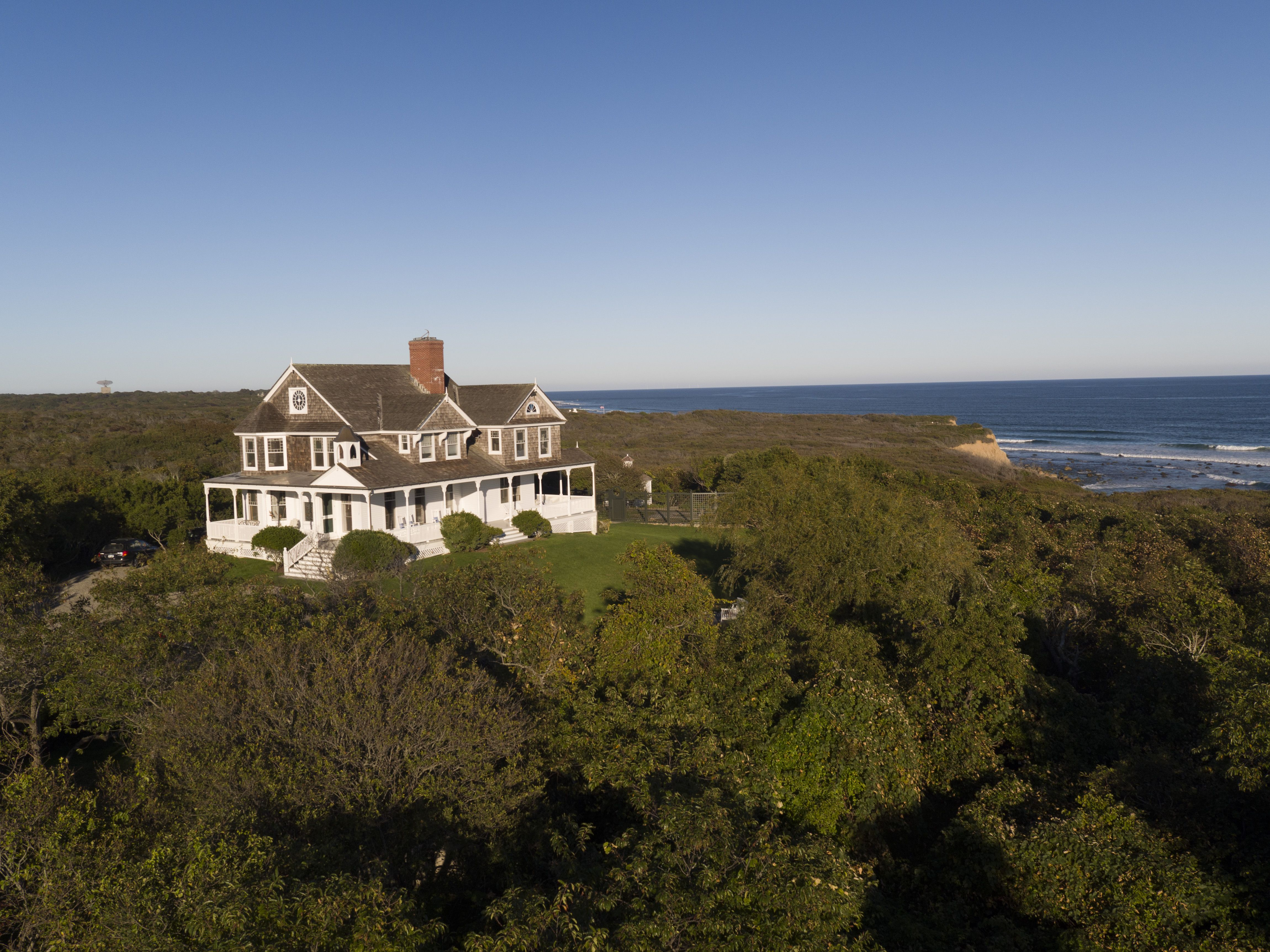 Dick Cavett Tick Hall Montauk House